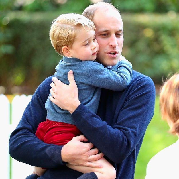 Pourquoi cette photo du prince William avec George fait polémique