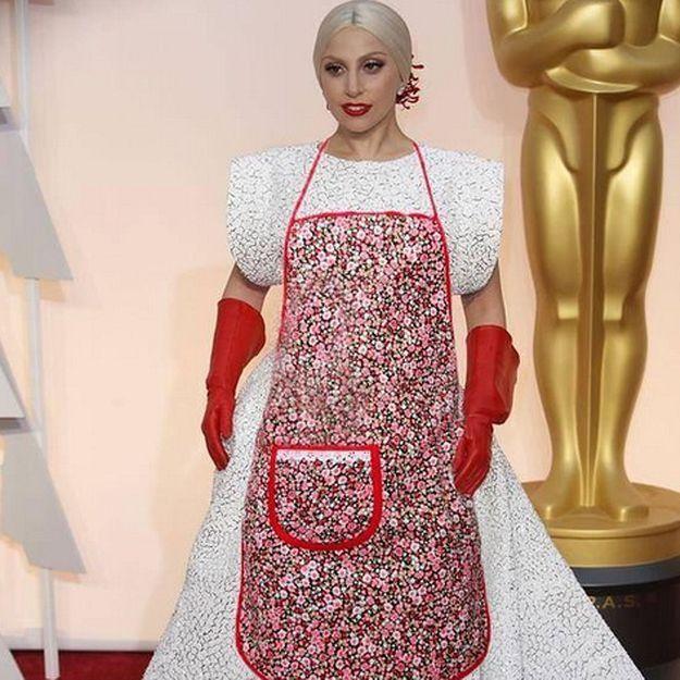 Prêt-à-liker : Les meilleurs détournements du look de Lady Gaga aux Oscars 2015