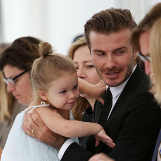 #PrêtàLiker : l'adorable attention de Harper pour David Beckham