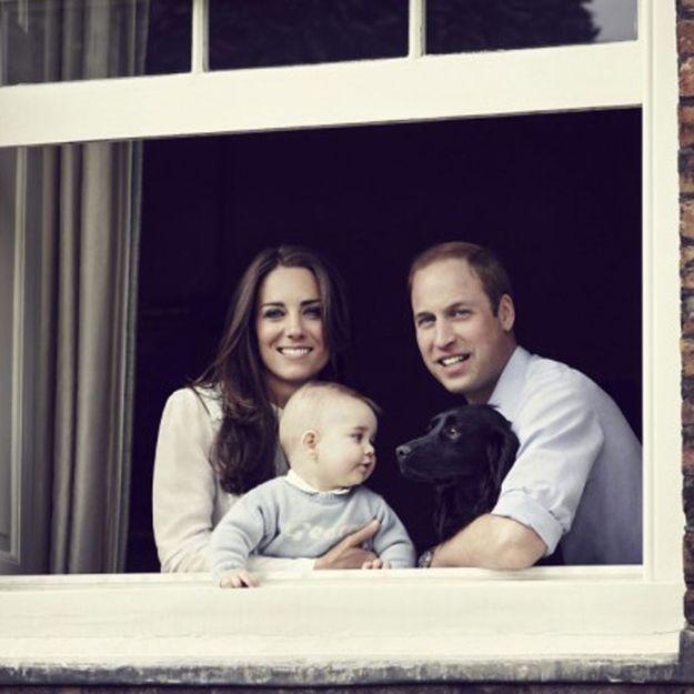 Prince George : ce que l'on sait de son petit pull brodé !