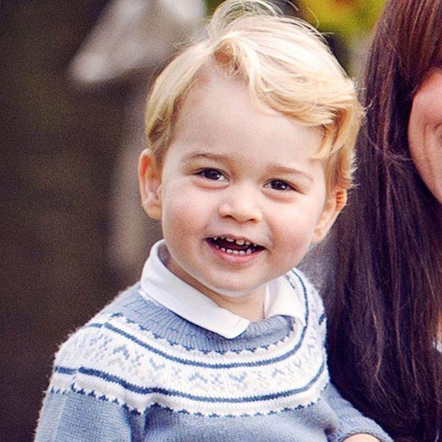 Prince George : les premières photos de sa rentrée à la crèche