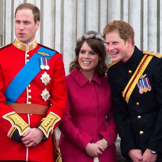Qui est la princesse Eugenie par rapport aux princes Harry et William ?