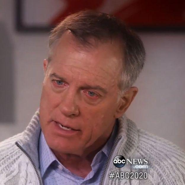 Stephen Collins parle de l'une de ses victimes, «désorientée et effrayée»