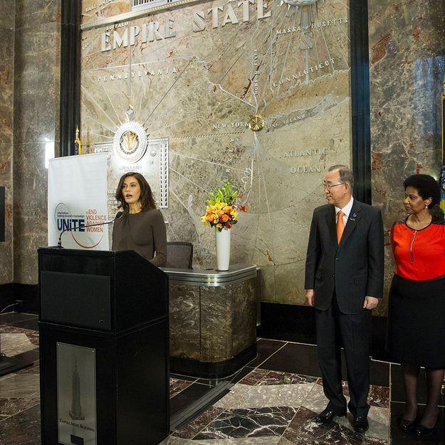 Teri Hatcher victime d'inceste : son message à la tribune de l'ONU