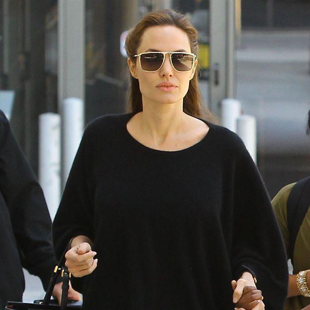 Une vidéo d'Angelina Jolie droguée diffusée par un tabloïd