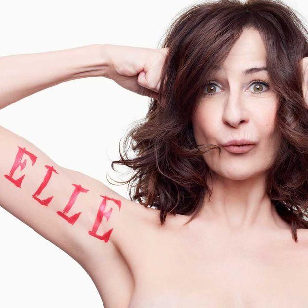 Valérie Lemercier : sa déclaration d'amour à ELLE