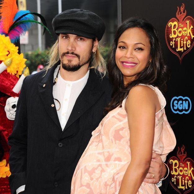 Zoe Saldana a donné naissance à ses jumeaux
