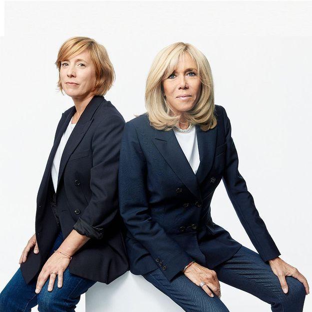 Interview : Brigitte Macron et Andréa Bescond, ensemble contre les violences envers les enfants