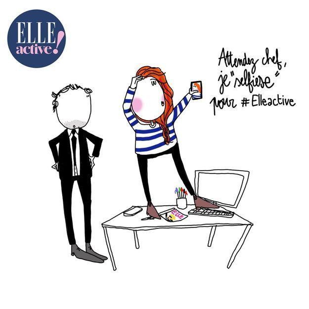 ELLE Active: envoyez-nous votre selfie au boulot