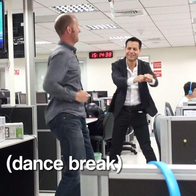 Après la danse de la démission, la choré du patron