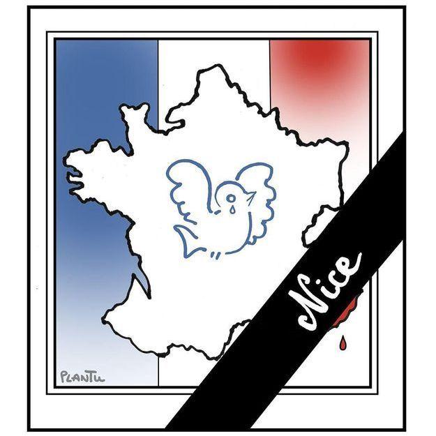 Attentat à Nice : les hommages en dessins