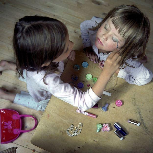 Attention au maquillage pour enfant !