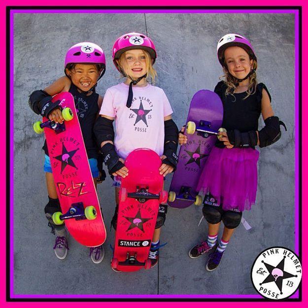 Californie : à 6 ans, elles sont les stars du skatepark