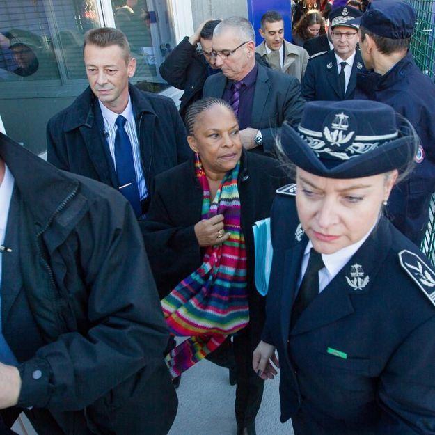 Christiane Taubira, une ministre sous haute protection