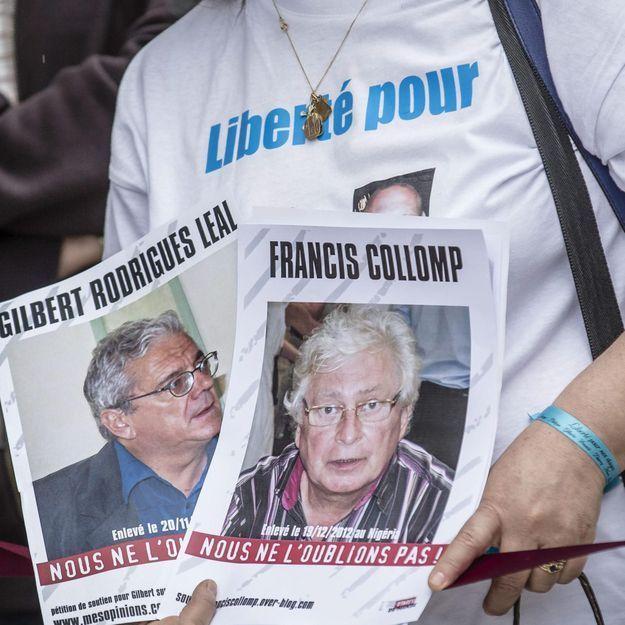 Fin du calvaire pour la famille de l'otage Francis Collomp