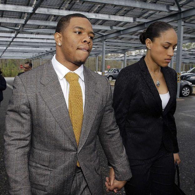 Le footballeur américain Ray Rice licencié pour violences conjugales