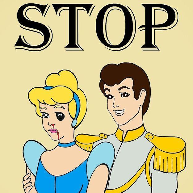 Les h ro nes de dessins anim s victimes de violences conjugales elle - Image de dessin anime gratuit ...