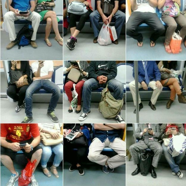 Manspreading : vous aussi, vous ne supportez plus les hommes qui écartent les jambes dans le métro ?