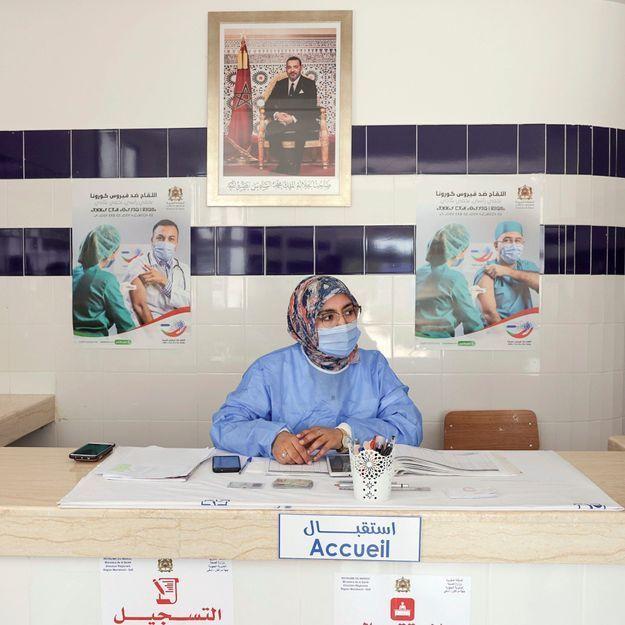 Maroc : les femmes derrière le succès de la campagne de vaccination