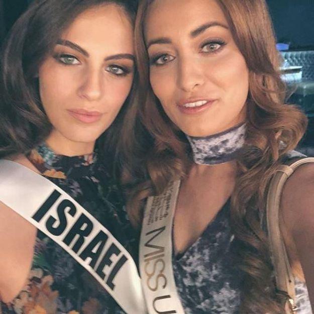 Miss Irak et Miss Israël : un selfie pour la paix