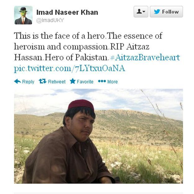 Pakistan : un ado se sacrifie pour sauver ses camarades