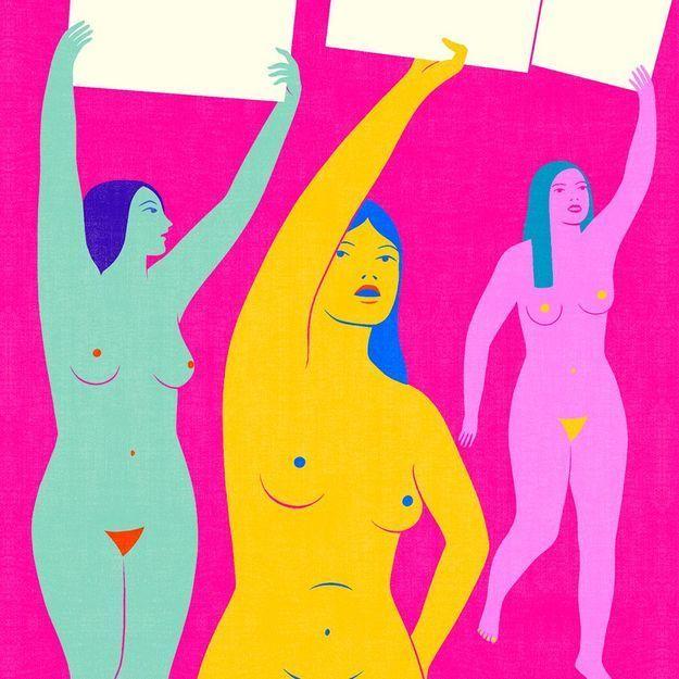 Pourquoi l'utilisation de la nudité comme geste d'émancipation continue de diviser les féministes ?