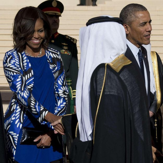 Quand Michelle Obama choque l'Arabie Saoudite