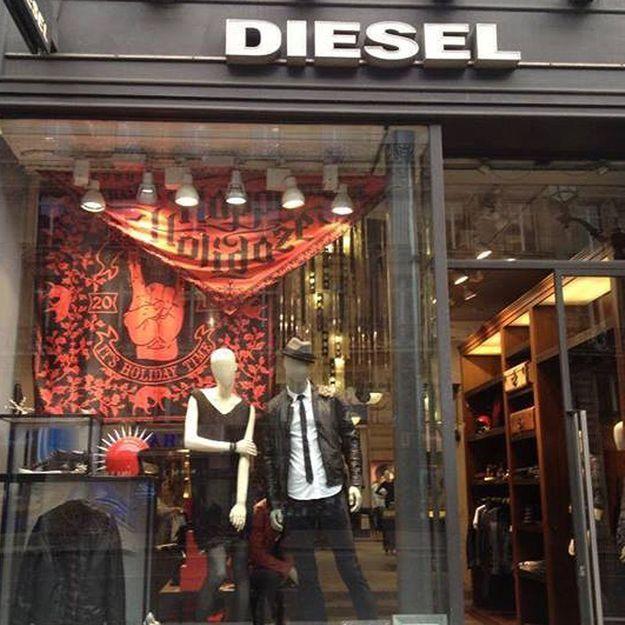 Quenelle : un magasin Diesel reçoit des menaces de mort