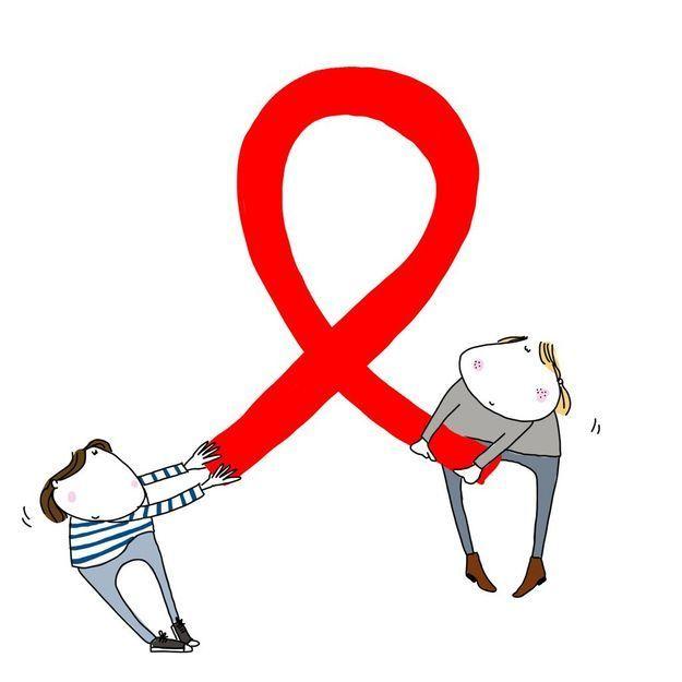 Rencontre un homme avec le VIH