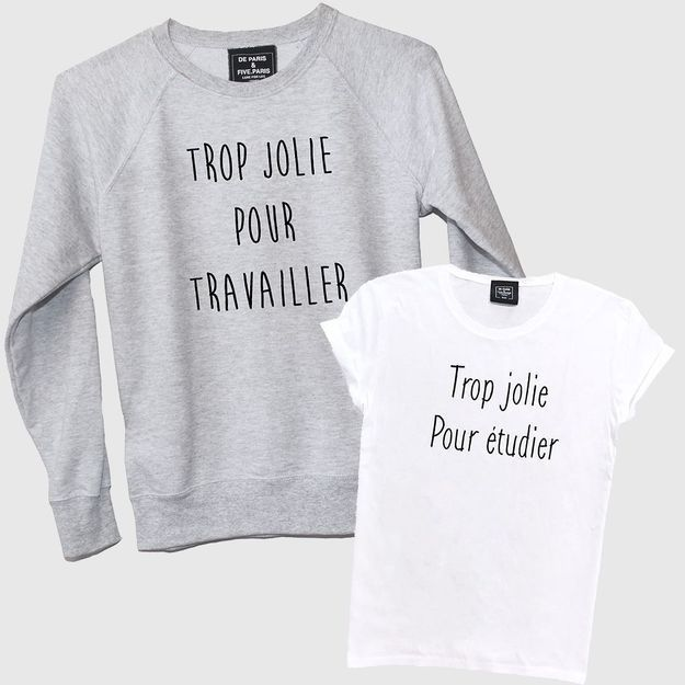 « Trop jolie pour étudier » : le t-shirt sexiste qui fait bondir les internautes