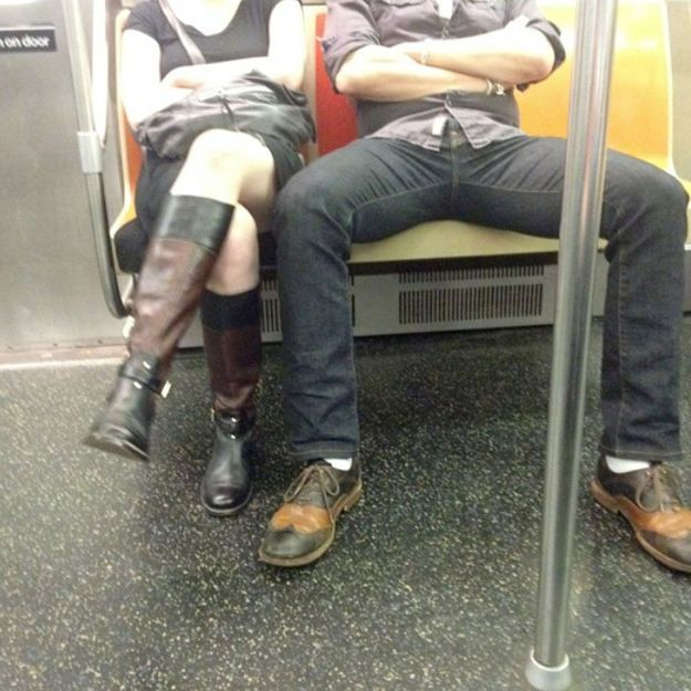 Une blogueuse s'en prend aux hommes dans le métro