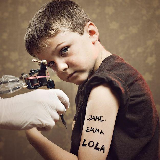 Un salon de tatouage pour enfants en Angleterre : scandaleux ?