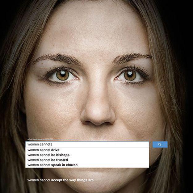 Une campagne pour dénoncer le sexisme sur Google