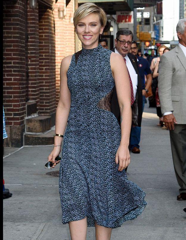Scarlett Johansson scorpion