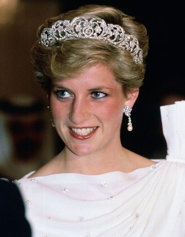 Diana et son trait de crayon bleu sous les yeux
