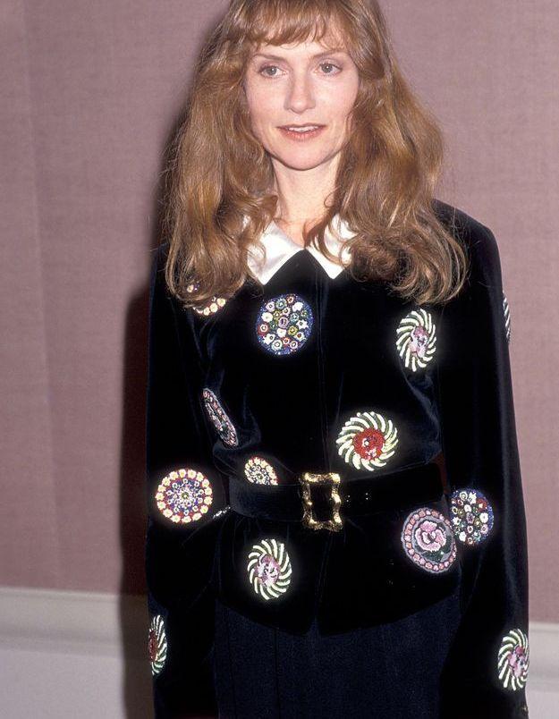 Isabelle Huppert en 1990