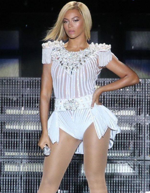 Beyoncé et son carré lisse