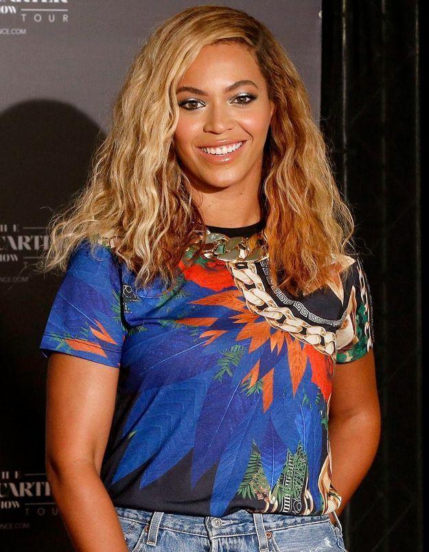 Beyoncé et ses cheveux mi longs
