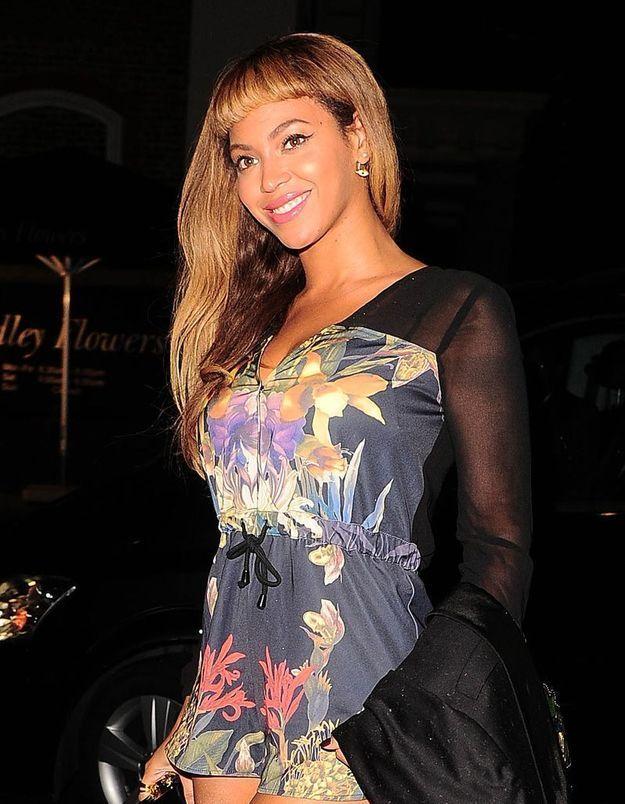 Beyoncé ose la frange courte