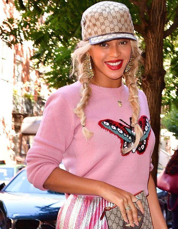 Beyoncé ose les couettes
