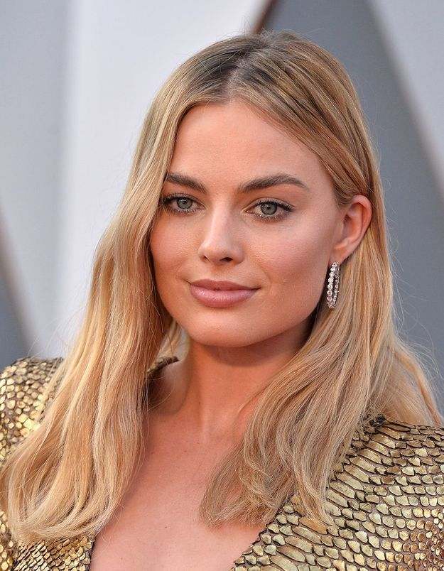 La coiffure effortless de Margot Robbie
