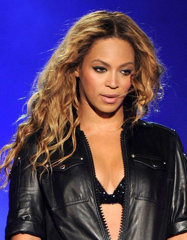 La coloration bronde de Beyonce