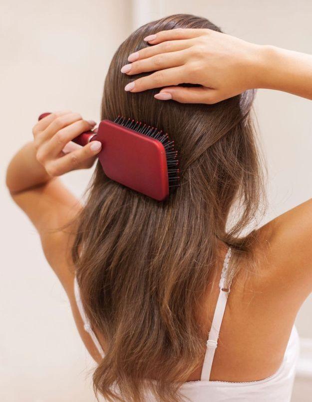 Comment nettoyer sa brosse à cheveux ?
