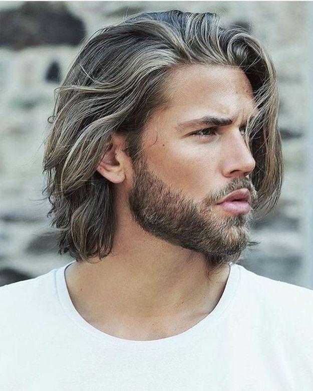 Incroyable Coupe De Cheveux Homme Long