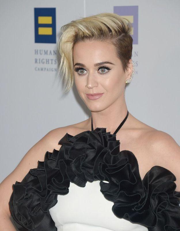 La récente coupe courte de Katy Perry