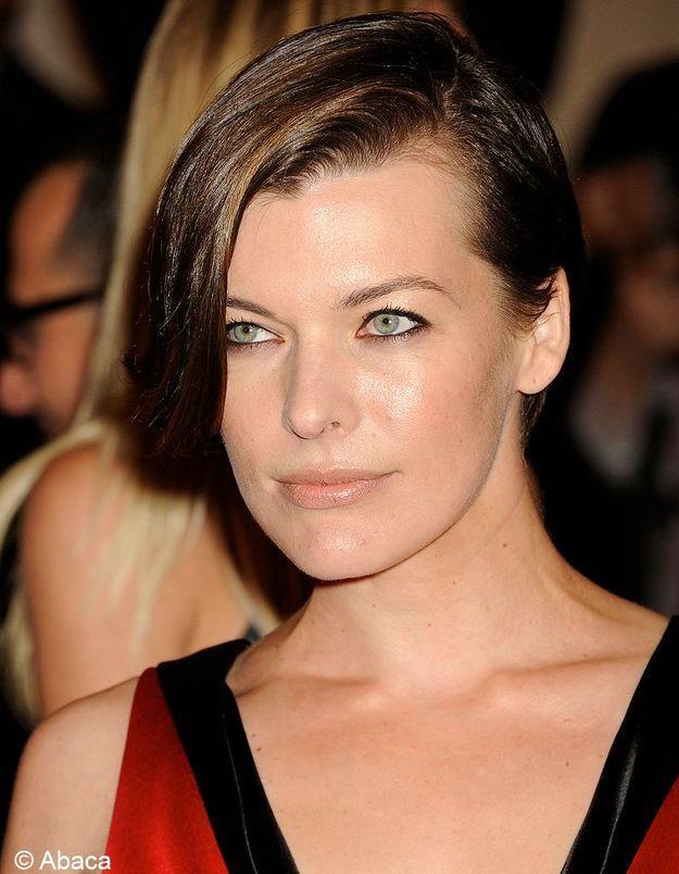 Le carré assymétrque de Milla Jovovich