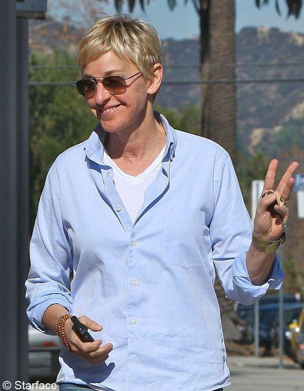 Le pixie d'Ellen DeGeners