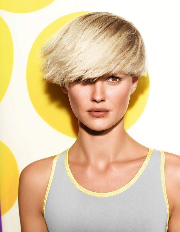 Coiffure cheveux Jacques Fourcade pour L'Oréal Professionnel collection printemps/été 2015