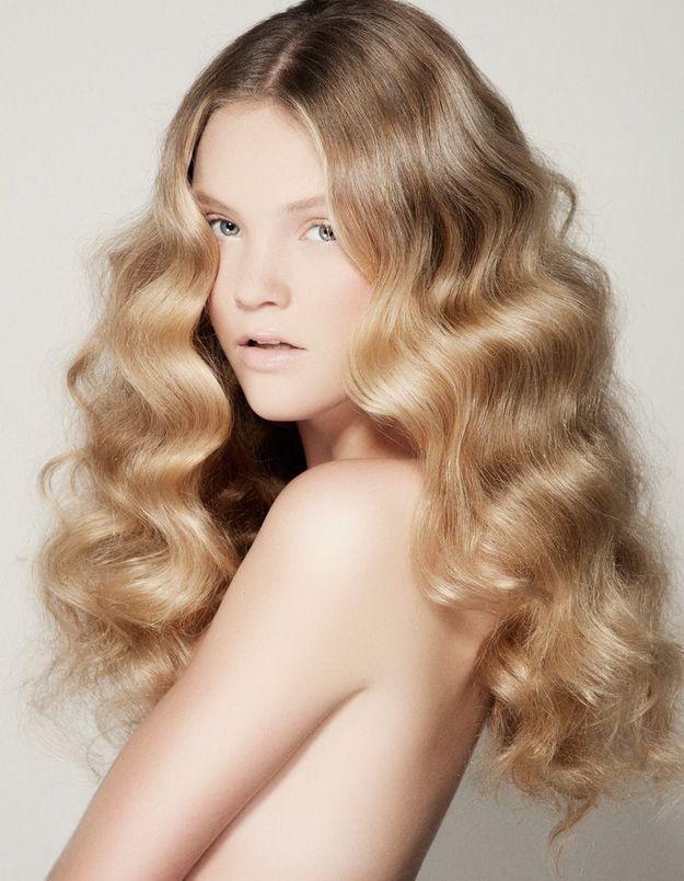 Modèle coupe de cheveux Laurent Decreton pour L'Oréal Professionnel collection printemps-été 2015