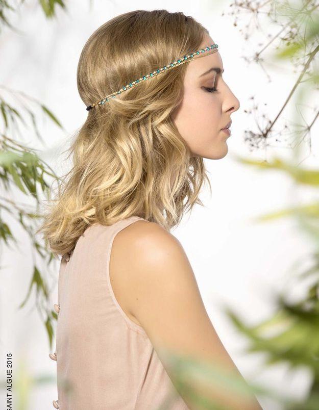 Style coiffure Sainte Algue collection printemps-été 2015